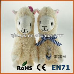 Hot sale voice recording alpaca toys wholesale peru