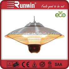 Automotive heater fan Ceiling Types garden gas Both Outdoor and Indoor Use with remote control and LED light