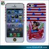 guangzhou manufacturers minion design hard pc case for iphone 5 case