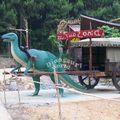 paseos de atracciones dinosaurio para los niños de dinosaurio trilobites