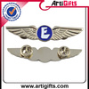 Factory direct sales wing badge butterfly pin