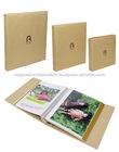 Kraft Paper Cover Photo Album in L M S Size for DIY (Merk / Aimant)