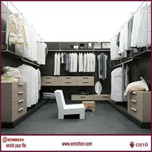Modern design closets wood home furniture(EKJC132029)