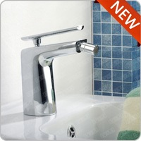 European standard brushed bidet faucet