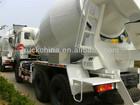 Beiben Concrete Mixer Truck 9 CBM Auto Concrete Mixer Forced Mixer Mini Batching Plant PLC Controller