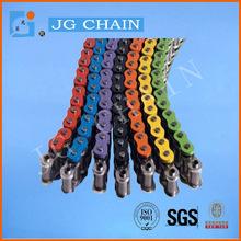 colored bike chains