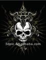 china großhandel 3d gothic totenkopf Bild für wanddekoration