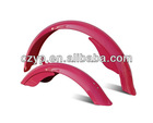 bicycle steel colorful mudguards