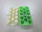 Heart shape 14 holes silicone chocolate models