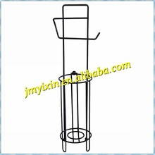 Beauty Powder Coated Wire Tissue Stand/Conner tissue holder metal /promotion/marketing