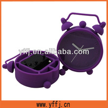twin bell silicone alarm table clock