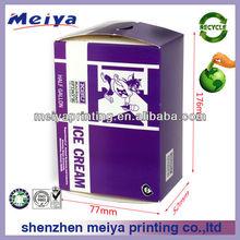 Hot sale cardboard ice cream gift packaging box