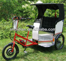 wider body 250W/500W electric pedicab/pedicab rickshaw/rickshaw /trike/tricycle with MP3&speaker with CE