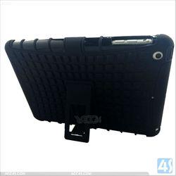 Hybrid Bumper Case Kickstand Hard Cover for iPad mini2 with Retina, silicone +pc case for ipad mini 2 P-IPDMINIiiHCSO001