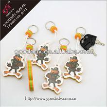Factories producing variety of custom type Eva keychains
