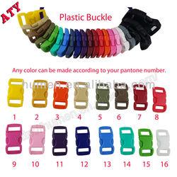 "3/8"" 19 Colors Side Release Plastic Buckles"