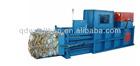 Horizontal baler machine for waste paper/cardboard