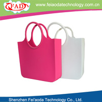 new arrival bag silicone candy colorful tote bag
