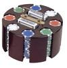 Roll Wood Poker Chip Set