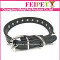 Cão de alta qualidade design alemanha coleira de cachorro laminados couro dog collar
