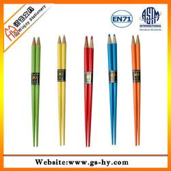 2014 Pencil factory offer new design chopstick pencils