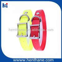 Innovative dog show leads collars,HST-31019 S size dog collar TPU