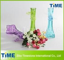 Custom Different Types Glass Vase for Wedding Decoration