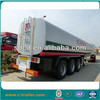 3 axle tanker truck trailer, lpg tanker trailers for sale,raw milk tanker trailer