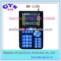 Mh-1106 buscador de satélite digital tv para receptor dvb obediente digital por satélite metros buscador para el plato