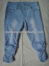 lady women jeans fashion shorts