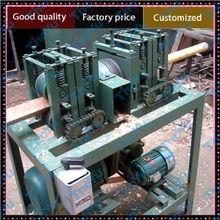 Wood stick threading machine from waste tree branch