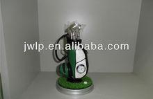 golf souvenir golf lawn business gift golf pen container suit