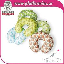 Wholesale micro polystyrene beads filling neck cushion