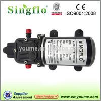 Singflo 12V DC battery powered water high pressure mist pump