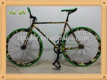 "700*25C camouflage color fixed gear bike/26"" full alloy fixie/aluminum alloy fixed gear bike 26"""