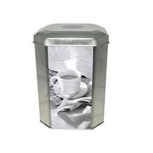 Dongguan metal octagon tin coffee packaging box manufacturer