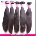 Picante 100% pelo virgen cabello humano virgen brasileña de onda recto, natural del pelo recto