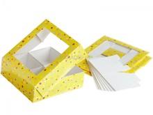 Cupcake box/folding cake box/pastry folding box