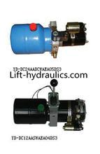 Hydraulic power unit for mini table truck & platform stocker