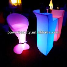 cheap plastic barstool led lighting up modern barstool