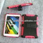 PC TPU Kickstand combo case for Ipad Mini2 Mini II