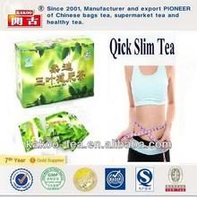 30 pcs/box chinese best natural slim diet tea