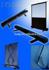 3D projector screen silver/HD home theatre projection screen/Floor Mounted Screen