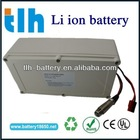 24v 10Ah lithium battery with case for electric golf cart