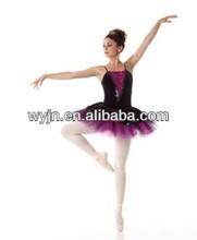 Girl Ballet Dance Dress Gymnastic Leotard Straps Tutu heart queen costume