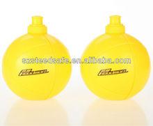 Decorado botellas para christma del balón de fútbol de plástico de la novedad botella de agua