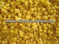 Best selling Vietnam high quality IQF frozen sweet corn