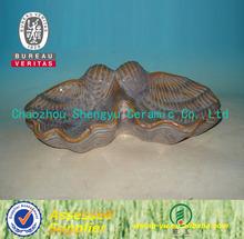 ceramic decorative sea shell for sale