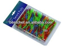 mini packing Plastics sword picks