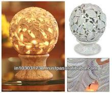 Marmo naturale pietra candelieri/supporto di candela candela pietra stand stand agarbatti elefante design ben handcarved